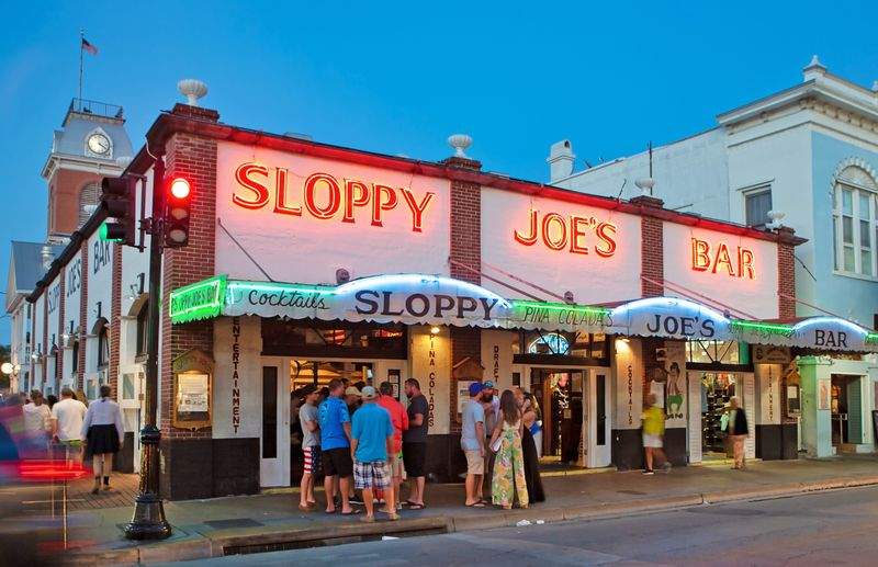 Key West Bars Restaurants Nightlife Duval Street Key West