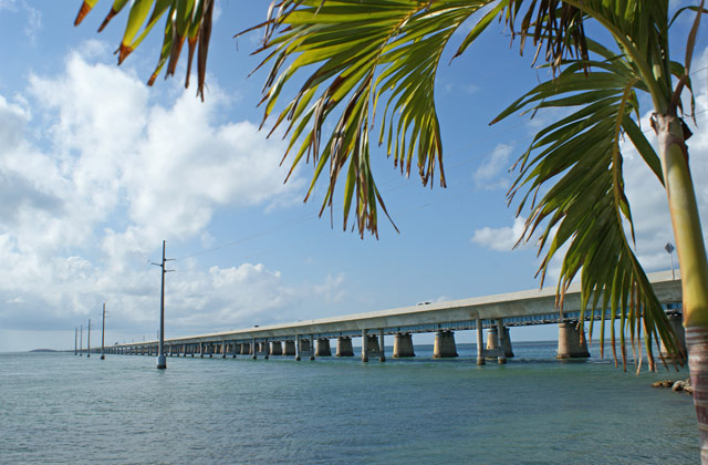 The Overseas Highway and the Seven Mile Bridge